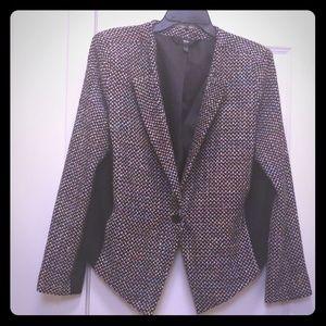 Mossimo Multi Color Tweed Blazer